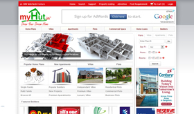 MyHut.in - SRV InfoTech Project