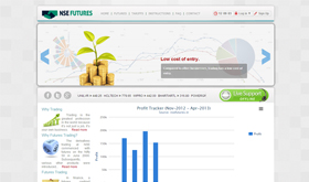 nse futures - SRV InfoTech Project