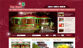 Thai Resort - SRV InfoTech Project