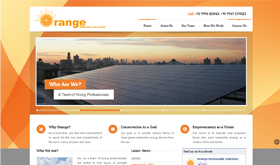 Orange Renewable Solutions - SRV InfoTech Project