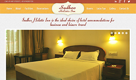 Sadhoo Holistic Inn Resort - SRV InfoTech Project