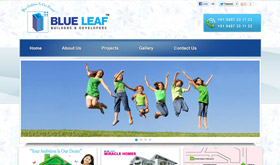 Blue Leaf Builders & Developers - SRV InfoTech Project