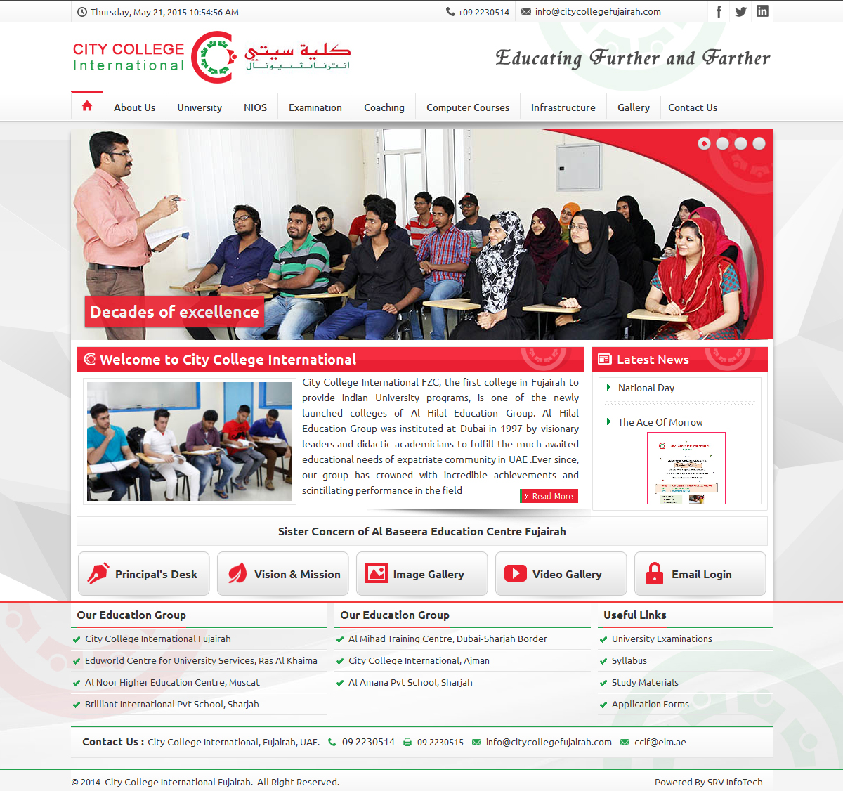 City College International - SRV InfoTech Project